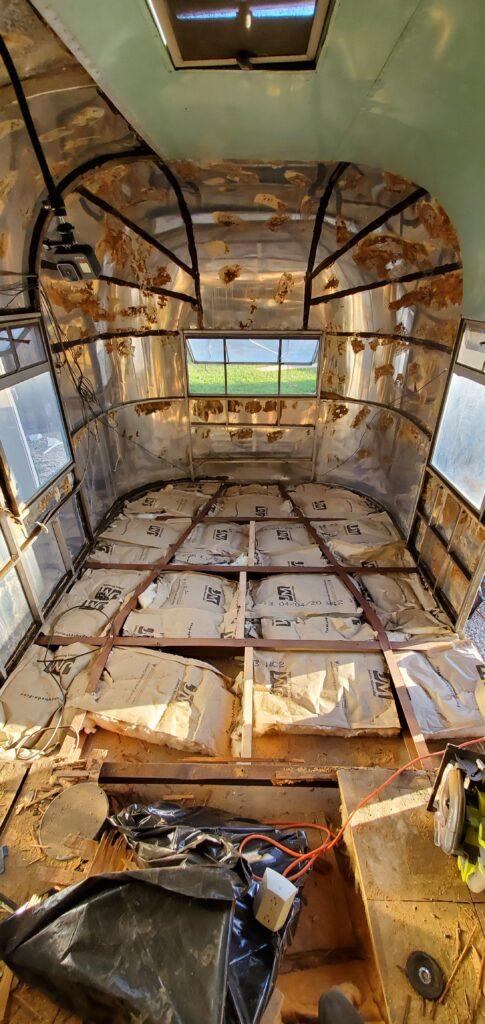 center framing and insulation
